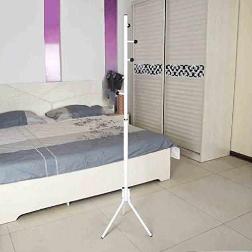 SKC Lighting-Porte-manteau Porte-vêtements en fer Continental Continental Hanging Hanger Bedroom Hanging Hanger (Couleur : Blanc)