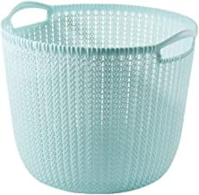 SWZJJ Plastic Dirty Clothes Hamper, Laundry Basket Sorter with Handles Suitable for Living Room and Bedroom