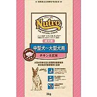 ニュートロジャパン ナチュラルチョイス [中型犬-大型犬用] 成犬用 チキン&玄米 3kg