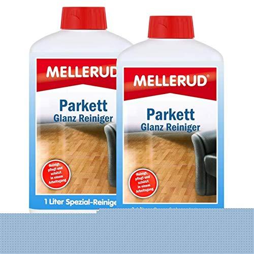 2x MELLERUD Parkett Glanz Reiniger 1L Set Parkettreiniger Diele Holz Fußboden