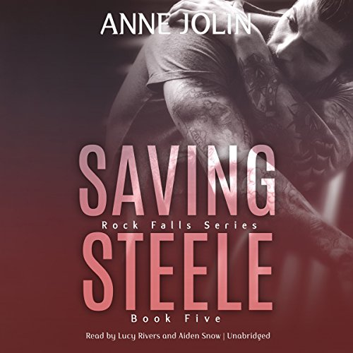 Saving Steele audiobook cover art