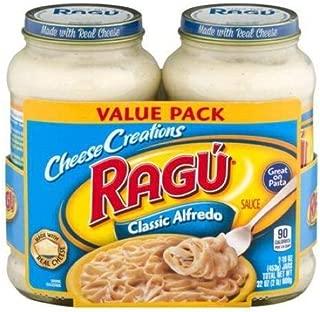 Ragu Cheese Creations Classic Alfredo Pasta Sauce 16 oz (Pack of 12)
