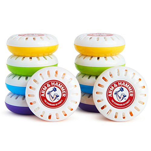 Munchkin Arm & Hammer Nursery Fresheners, Assorted Scents of Lavender or Citrus, 10 Count