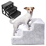 Legendog Mascota Pasos, Escaleras para Perros Escalera PortáTil para Mascotas con Escalera para Escaleras Y PeldañOs para Perros