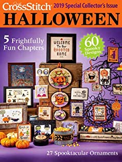halloween cross stitch magazine