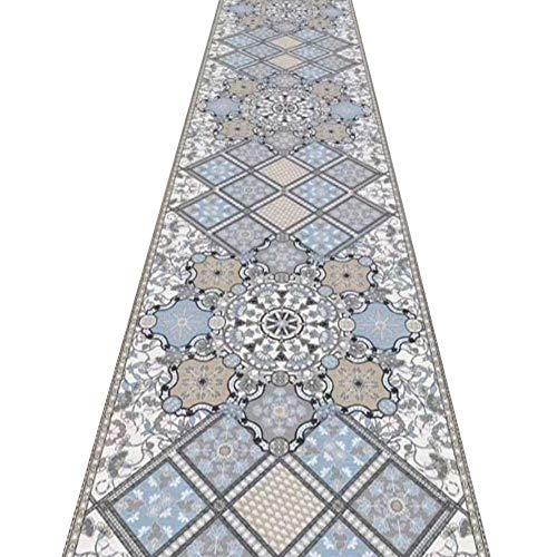 Tappeti Runner Tappeto Passatoia Corridoio Carpet Durevole Cucciolo Amichevole Cucina Interna Lavabile, Lunghezza Personalizzata 12/3 (Color : A, Size : 0.6x4m)