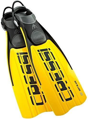 Cressi ARA - Aletas de Buceo Unisex, Color Amarillo, Talla S/M