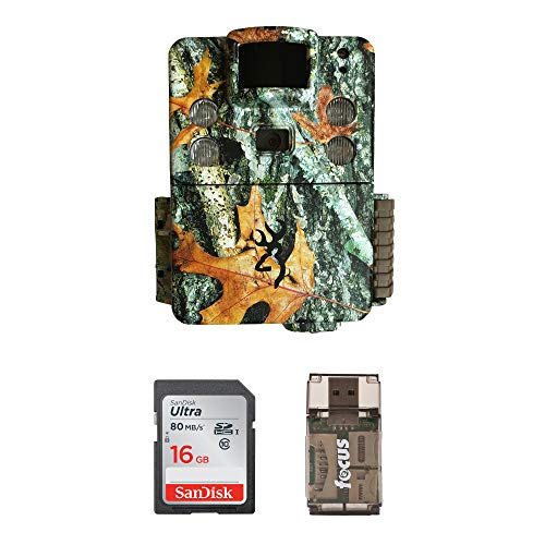 Browning Trail Cameras Strike Force HD Apex 18MP Game Cam with 32GB Memory Card and Focus Card Reader Kit