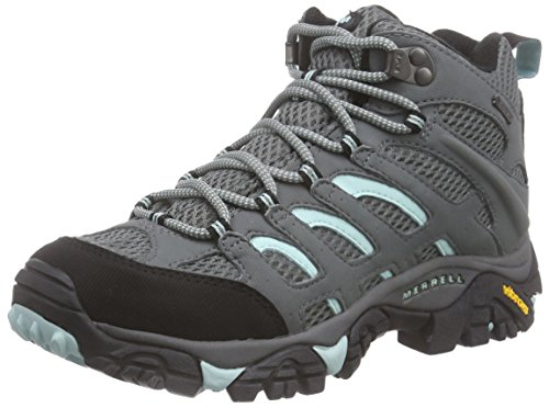 Merrell Women Moab Mid GTX High Rise Hiking Boots