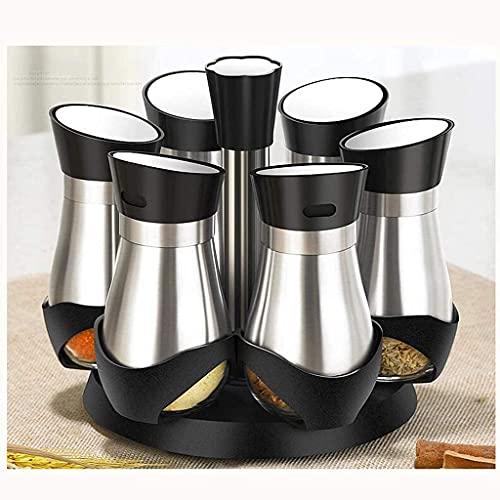 Spice Box Set Kruidenfles Glazen Keuken Kruiden Jar Kruidenfles Olie Zout Kruiden Opbergdoos Huishoudelijke Goederen…