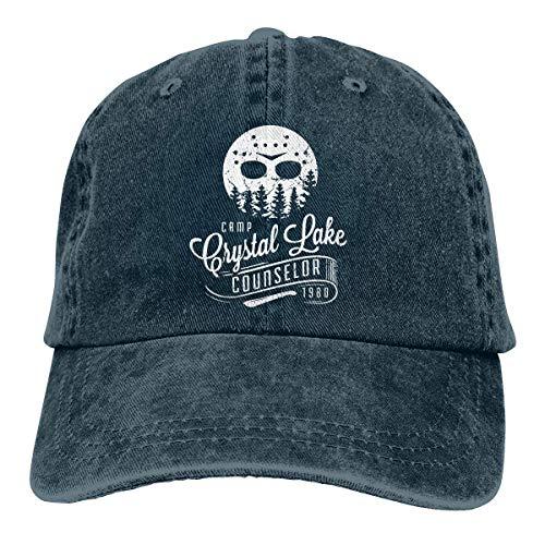 FGHJKL Camp Crystal Lake Unisex Trucker Hats Dad Baseball Hats Driver Cap