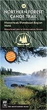 Northern Forest Canoe Trail #11 - Moosehead/Penobscot Region: Maine: Moosehead Lake to Umbazooksus Stream (Northern Forest Canoe Trail Maps)