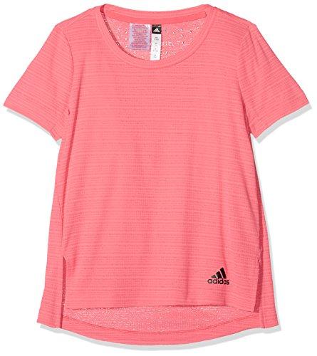 adidas - Fitness-Shirts für Mädchen in Real Pink S18, Größe 164