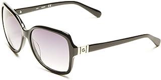 G by Guess Ladies Black Square Sunglasses GG114301B59