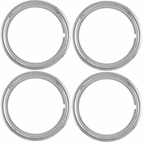 OxGord TR-17-PLCH 17 Trim Ring Set of 4