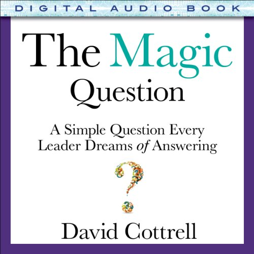 The Magic Question audiobook cover art