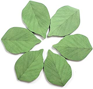 300 Sheets Leaf Sticky Notes Memo Pad Paper Sticker Pads (50 Sheets/Pad x 6 Pads)