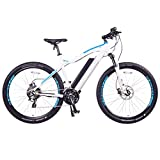 NCM Moscow Plus Electric Mountain Bike 768 Wh 48V/16AH Matte White 29'