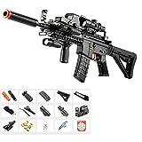 GRASSAIR M16 Water Bullets Gun Toys para niños, Pistola de Doble propósito Individual/ráfaga,...