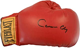 Muhammad Ali Autograph Boxing Glove Signed Cassius Clay, Rare. JSA
