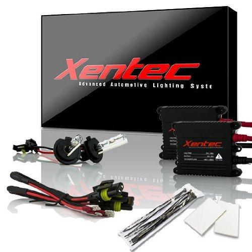 Xentec H7 6000K HID Xenon Bulb bundle with 55W EP alloy Slim Ballast (Ultra White)