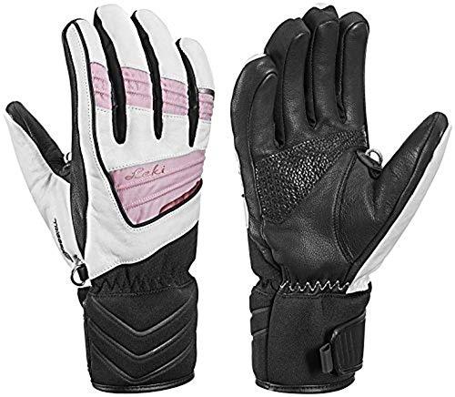 Leki Griffin Elite S Lady - Damen Leder Handschuhe mit Trigger S, Handschuhgröße Leki. Reusch & Fischer:8
