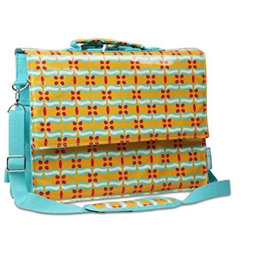 Les Skewieso - hybride tas, de naar schoudertas veranderbare rugzak - in baiser-patroon