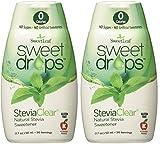 Sweetleaf Sweet Drops Liquid Stevia Sweetener, Steviaclear, 1.7 Ounce (Pack of 2)