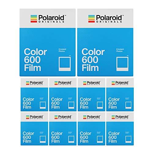 Polaroid Originals Classic Color Instant Film for 600 Cameras (80 Exposures)