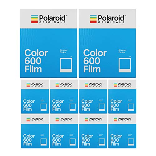 Polaroid Originals Classic Color Instant Film for 600 Cameras (80 Exposures)