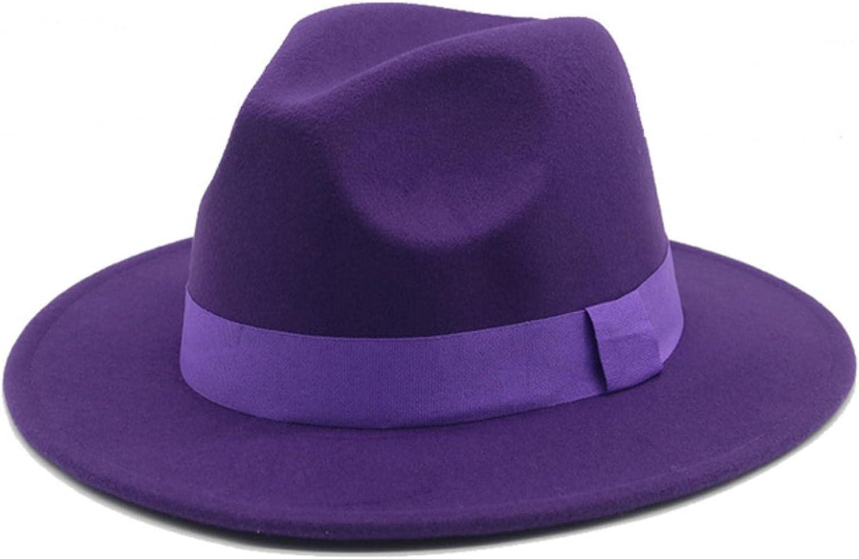 Women hats winter ribbon band belt felt hats fascinator church hats white pink wide brim vintage women fedora hats