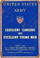 軍の金属サインに参加してくださいレトロな壁の装飾ティンサインバー、カフェ、家の装飾