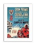 Wee Blue Coo Race CAR Gran Premio Peru GP 1959 Lima Poster