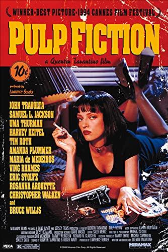 1art1 Pulp Fiction - Cartel De La Película, Quentin Tarantino Póster (91 x 61cm)