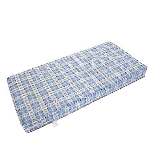 Panana 3ft Single Budget Economy Mattress Sprung Mattress Comfy Sleep Spring Mattress (Blue, 3ft Single)