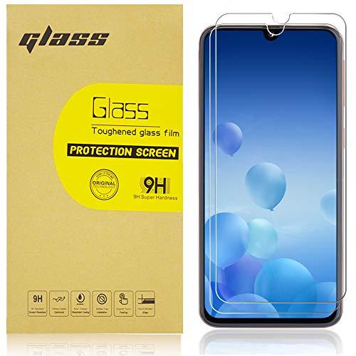 DJSOG [2 Stück] Displayschutzfolie für Galaxy A40, Gehärtetes Glas Panzerglas Schutzfolie [9H Härte][Anti-Kratzen][Anti-Öl][Anti-Bläschen][Anti-Fingerprint][Hülle Freundllich]