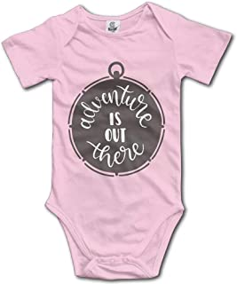 Adventure Out There Unisex Baby Short Sleeve Bodysuit