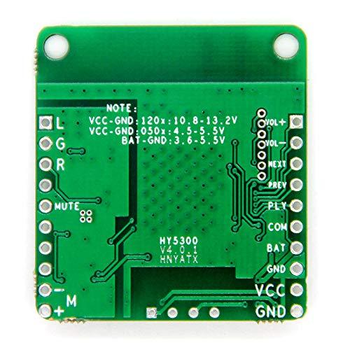 Didad QCC3008 TWS Audio Coche Receptor Placa APTXLL MúSica Sin PéRdida HiFi 5.0 Placa Receptora Sin AlimentacióN