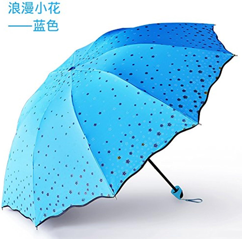 SFSYDDY-Umbrellas Tuba Double Reinforced Dual-Purpose Sunshade Sun Umbrella Sunscreen Uv Predection Black Glue Sunshade.