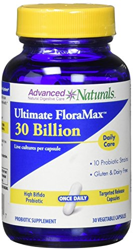 Advanced Naturals Ultimate Floramax Billion Caps, Blue and White 30 Count
