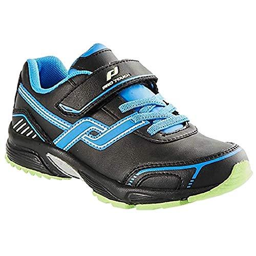 Pro Touch Bounce Kinder Schuhe Laufschuh Sportschuhe Schwarz Blau Größe 22