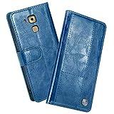 FugouSell Coque pour Huawei G9 Plus Nova Plus Maimang 5, Premium PU Cuir Portefeuille Étui Housse [Protection Complète] TPU...