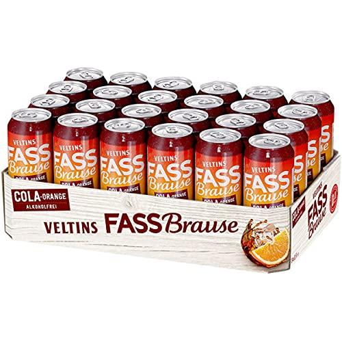 24 Dosen Veltins Fassbrause Cola Orange...