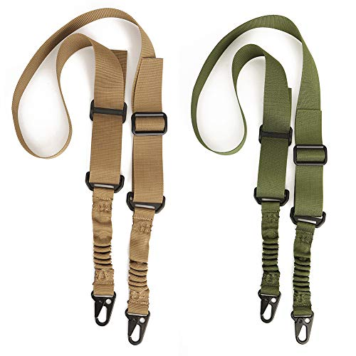 Accmor 2 Point Rifle Sling, 2 Pack Gun Slings, Two Points Traditional...