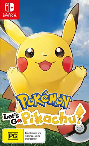 Jogo Pokémon: Let's Go, Pikachu! - Switch