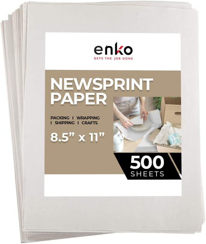 enKo - Newsprint Drawing Sketch 500 Moving Paper Packing Sheets Ranking TOP10 Detroit Mall