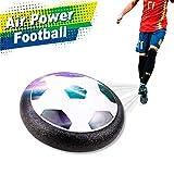 RC TECNIC Balón de Fútbol Flotante Hoverball con Luces Led | Juego Pelota Air Football Deslizante con Espuma | Juguetes para Niños Interior y Exterior