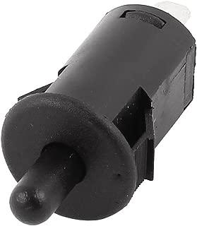 uxcell PBS-29B AC 250V 2.5A Refrigerator SPST Momentary Door Light Switch Black