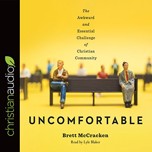 Uncomfortable audiobook cover art