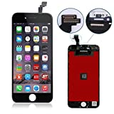 Black for iPhone 6 4.7 inch LCD Screen Replacement Full digitizer Assembly Frame Set Front Glass Display Required Tool kit